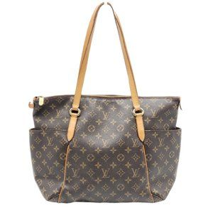 Auth Louis Vuitton Totally MM Monogram Tote Bag